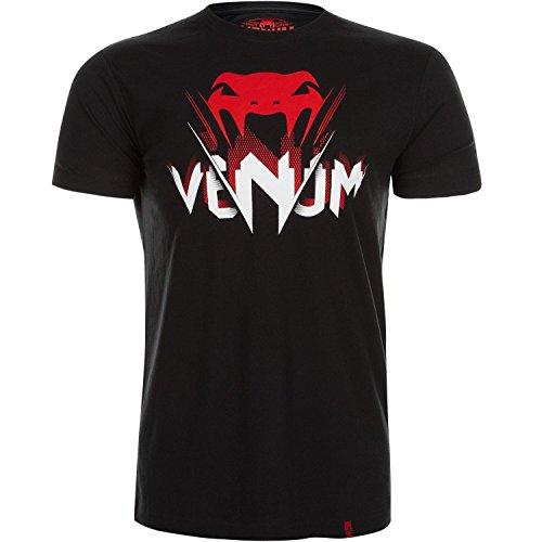 Venum Herren T-Shirt V-Ray, Schwarz, L