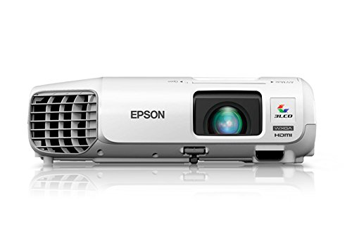 Epson V11H690020 High Definition LCD Projector, PowerLite W29,White