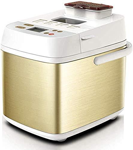 HOSUAI Brotbackautomat, Mit Faltknethaken, Brotgröße Und Kruste Einstellbar, 18 Automatikprogramme, Programm Für Glutenfreies Brot, Inkl. Timer 450W