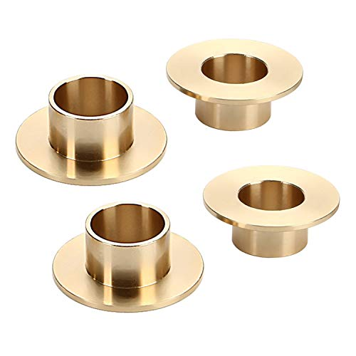CICMOD Bronze Shift Brake Lever Bushings Pedal Sleeve for Victory Cross Country,Cross Roads,Vision,Magnum X-1 Stealth Models 4pcs/Set