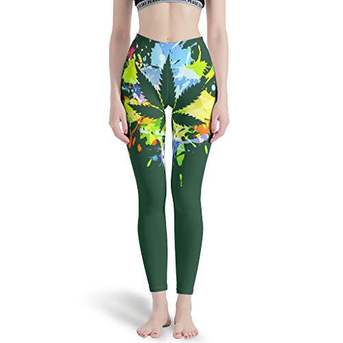 Wingard Leviosar Leggings deportivos para mujer suaves de longitud completa - pantalones de entrenamiento para gimnasio blanco xl