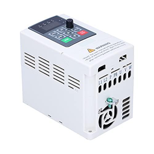 Unidad de frecuencia variable Eujgoov 220 V, entrada/salida monofásica con control PAM JLS-E-2S(2.2KW)