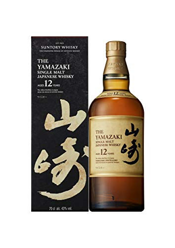 Suntory - Whisky japonés Yamazaki single malt 12 años - 700 ml