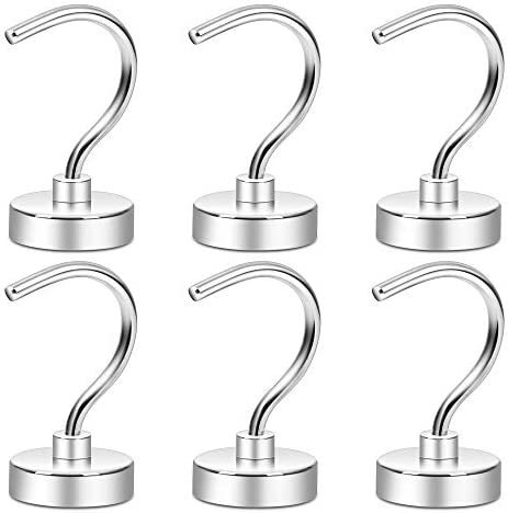 Neosmuk Magnetic Hooks 50 LBS Large Opening Hook CNC Machined Base Ideal for Cruise Grill Towel product image