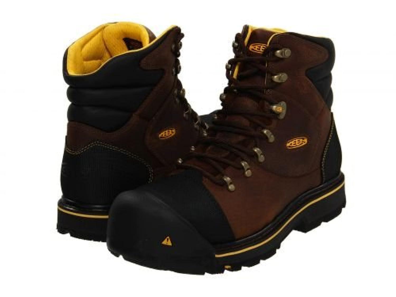 [キーン] Utility メンズ 男性用 シューズ 靴 ブーツ 安全靴 ワーカーブーツ Milwaukee - Slate Black [並行輸入品]