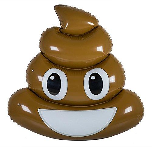 Emotive Schwimminsel XL Poop Kackhaufen