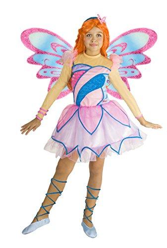 Ciao 11197 - Bloom Butterflix Costume Winx 7-9 anni