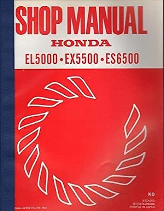 🔥 honda es6500 owner's manual pdf download.