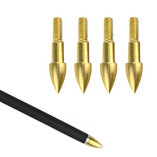 SHARROW 24pcs Puntas de Caza Punta de Flecha Puntos 75 Grains Broadheads para Flechas de Carbono Tiro con Arco