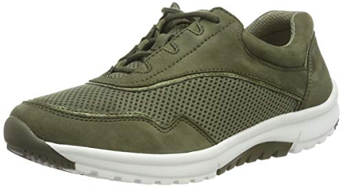 Gabor Shoes Damen rollingsoft Sneaker, Grün (Salvia/Military 30), 5 UK (38 EU)