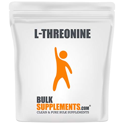 BulkSupplements.com L-Threonine - Mood Enhancer - Focus aid (1 Kilogram - 2.2 lbs - 500 Servings)