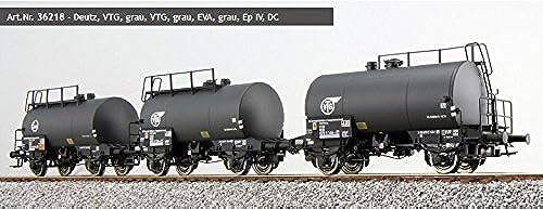 ESU 36218 H0 Set Kesselwagen Deutz 2x VTG , 1x EVA  Ep.IV