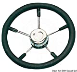 Osculati Volante mm 350 Nero (Soft Polyurethane Steering Wheel Black 350 mm)