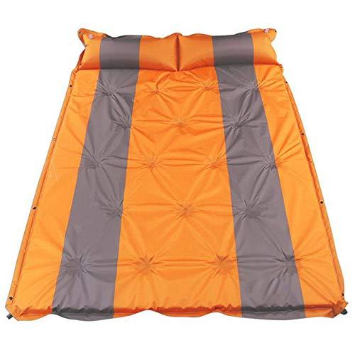 Camping Air Bed Airbag Ontwerp Van Opblaasbare Compact Dubbellaags Grootte Geschikt Voor 2 Personen Opblaasbare Outdoor Matrasschuim Camping Slaapkussen Met Extra Kussen Waterdicht En Lichtgewicht Gr