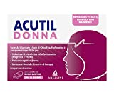 Acutil Donna, Integratore Multivitaminico Alimentare per Donna con Ferro, Magnesio e Vitamina B6, Per il Benessere e la Vitalità, 20 Compresse