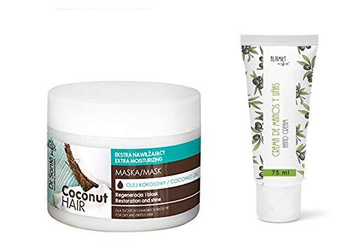 Dr Sante Coconut Oil Extra hydraterend haarmasker droog en broos haar, 300 ml