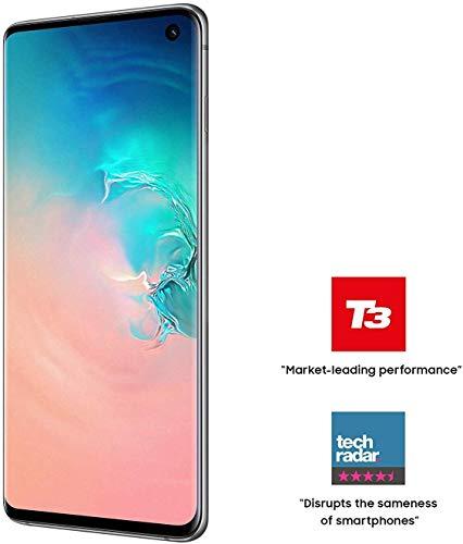 Samsung Galaxy S10 Single SIM Prism Weiß Britische Version