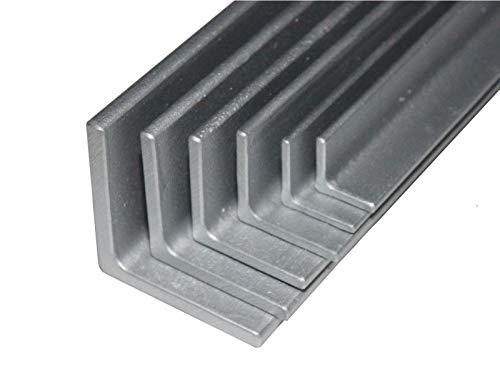 Winkelstahl verzinkt S235JR Länge 1500mm (150cm) von 20x20x3 bis 100x100x10mm 20x20x3mm