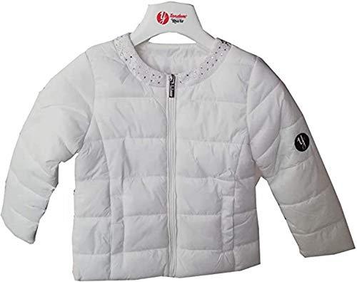Tandem Jacke für Mädchen, 3-7 Jahre, S-XXL, Weiß 98
