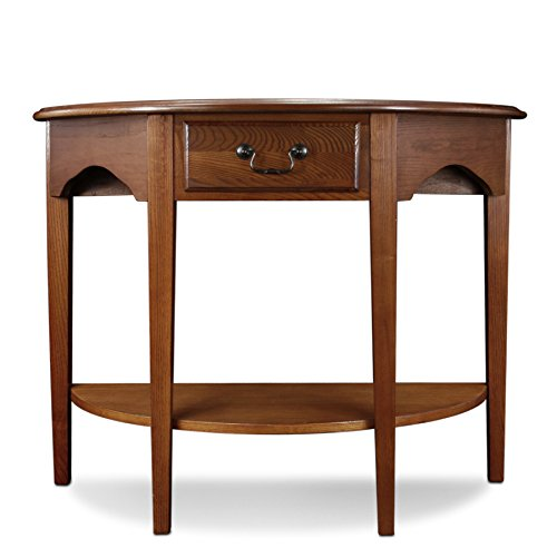 oak console tables for entryway - 8