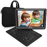 Naviskauto 17,5'' Lecteur DVD Portable Voiture Grand Ecran 16 Pouce pour Enfant avec Sacoche de Transport Supporte HDMI...