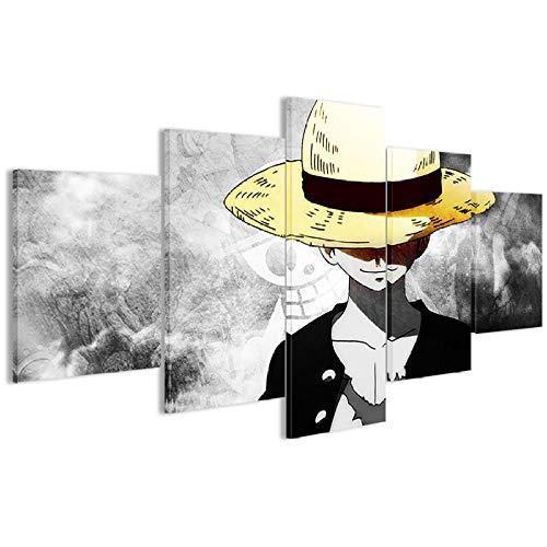 Leinwandbild, leinwand Wandkunst Anime Modern Gemälde Leinwand Wandkunst HD Druck Leinwand für Wohnzimmer Kunst für Zuhause Wohnzimmer Büro Dekoration Geschenk (2 Spezifikationen gerahmt )-A_Models