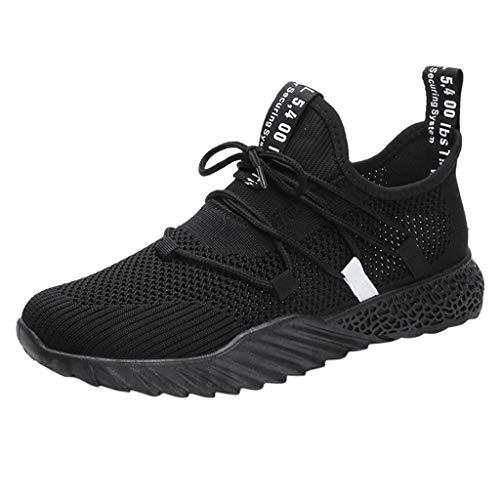 Vovotrade Sportieve werkschoenen voor heren, licht ademend, sneaker, 39-44, atletische wandelschoenen