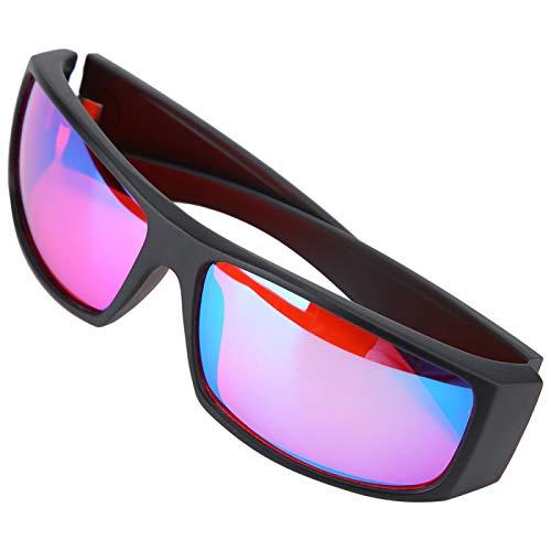 Gafas correctivas para daltónicos, Rojo Verde para ceguera, Debilidad, para Mejorar la Vista, Mejora del Color, para el Conductor, Apariencia de Gafas de Sol, para ceguera al Rojo/Verde