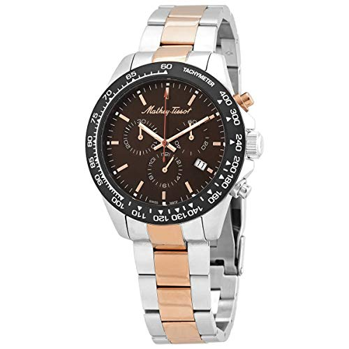 Mathey-Tissot Type 23 Moon Phase Chronograph Brown Dial Men's Limited Edition Watch H1823MPB