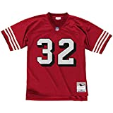 Mitchell & Ness Men's Ricky Watters Scarlet San Francisco 49ers Legacy Replica Jersey
