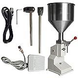 BECSUPPT Liquid Filling Machine Bottle Filling - Machine Bottle Filler Manual Filling 5-50ml(A03)
