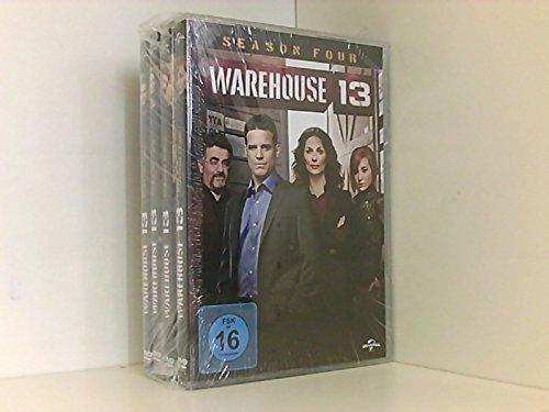 Warehouse 13 - Seasons 1-4 (14 DVDs)
