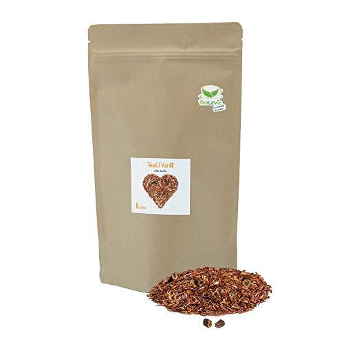 TEALAVIE - TeaLi Vanilli - Rooibos Tee lose 200g | edle Vanille | Nachfüllpack - nachhaltig & umweltfreundlich | 200g Refill loser Rotbusch Tee aus Südafrika
