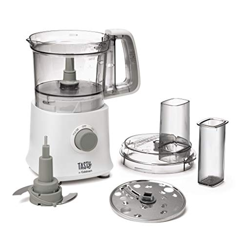 Tasty By Cuisinart MP300T Mini Food Processor, White, 4 Cup