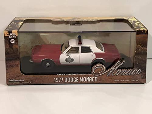 Greenlight 86573 1977 Dodge Monaco - Finchburg County Sheriff 1/43 Scale