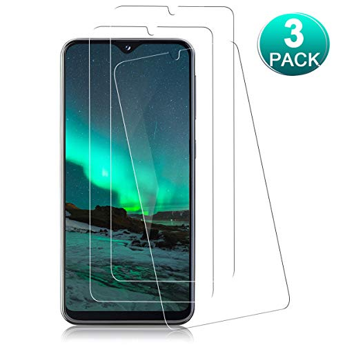 YIEASY 3 Piezas Protector de Pantalla para Samsung Galaxy A20E,Anti-Arañazos,Dureza 9H,0.33MM HD Cristal Templado,Sin Burbujas,Vidrio Templado película Protectora para Galaxy A20E-Transparente