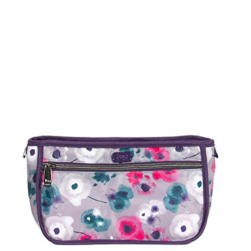 Lug Women's Parasail Cosmetic Case, Water, WATERCOLOR PEARL, One Size