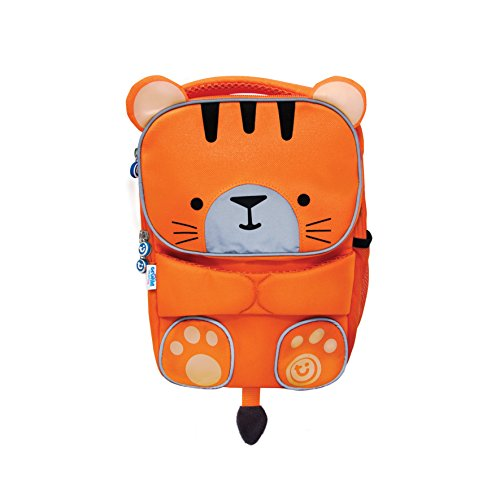 Trunki Trunki ToddlePak Backpack Buddy Tipu (Orange) Mochila infantil, 27 cm, 5 liters, Naranja