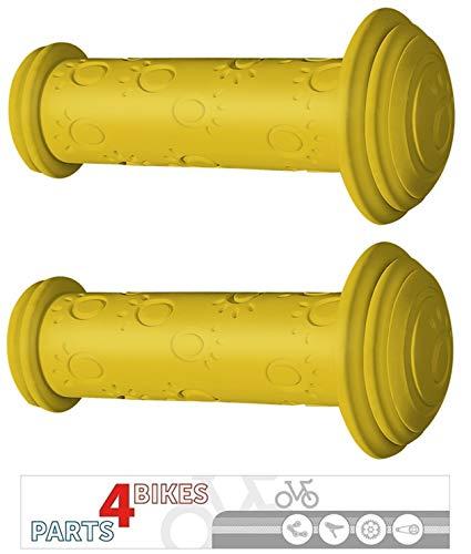 P4B Griff 82L Gelb Paar Fahrradgriff Fahrrad Kindergriff Kinderfahrrad Kinder