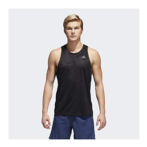 adidas RS Singlet M Camiseta, Hombre, Negro, L