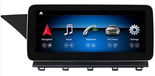 JALAL Eingebauter drahtloser Carplay-Android-Radio-Videoempfänger mit Bluetooth-GPS-Navigation Auto-Bildschirm 10,25-Zoll-Touchscreen-Multimedia Kompatibel mit Mercedes Benz GLK-Klasse X204 2008-2015