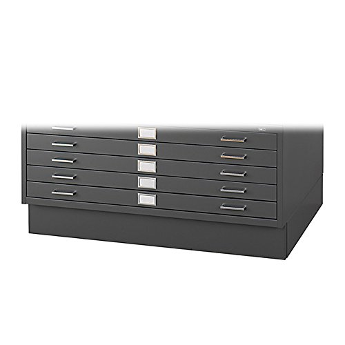 Safco Products Flat File Closed Base for 5-Drawer ...
