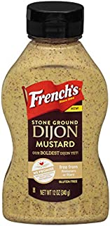 French's Stone Ground Dijon Mustard, 12oz, Pack of 2