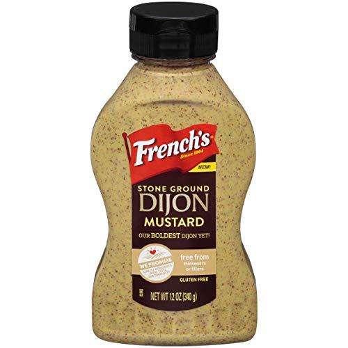 French's Stone Ground Dijon Mustard, 12oz, Pack of 3