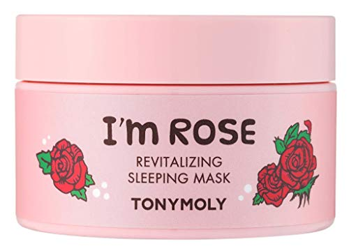 TONYMOLY I'm Rose Revitalizing Sleeping Mask, 1 Count