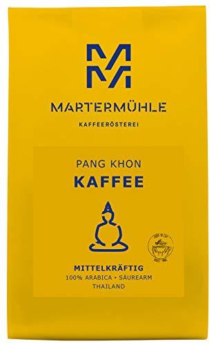 Martermühle | Kaffee Pang Khon (250g) | Gemahlen | Premium Kaffeebohnen aus Thailand | Schonend geröstet | Filterkaffee säurearm | 100% Arabica