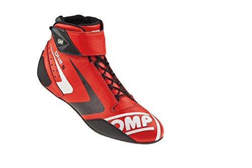 OMP OMPIC/80706147 Zapatillas, Rojo, Talla 47