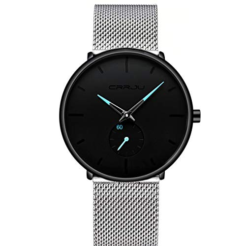 Men's Watches Ultra-Thin Minimalist Waterproof