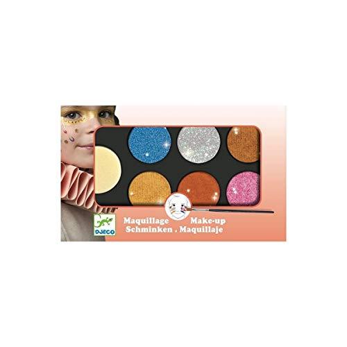 Djeco - Maquillage Palette 6 couleurs - effet métal