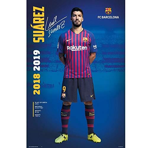 FC Barcelona Poster 2018/2019 Luis Suarez Pose